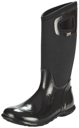 Bogs North Hampton Solid Tall Rain Boots Women Black